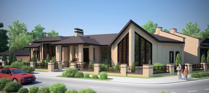 проект дома в краснодаре