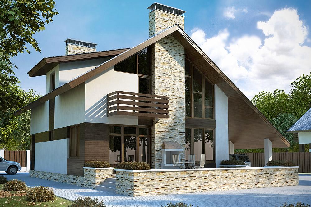 Современный дизайн дома фото